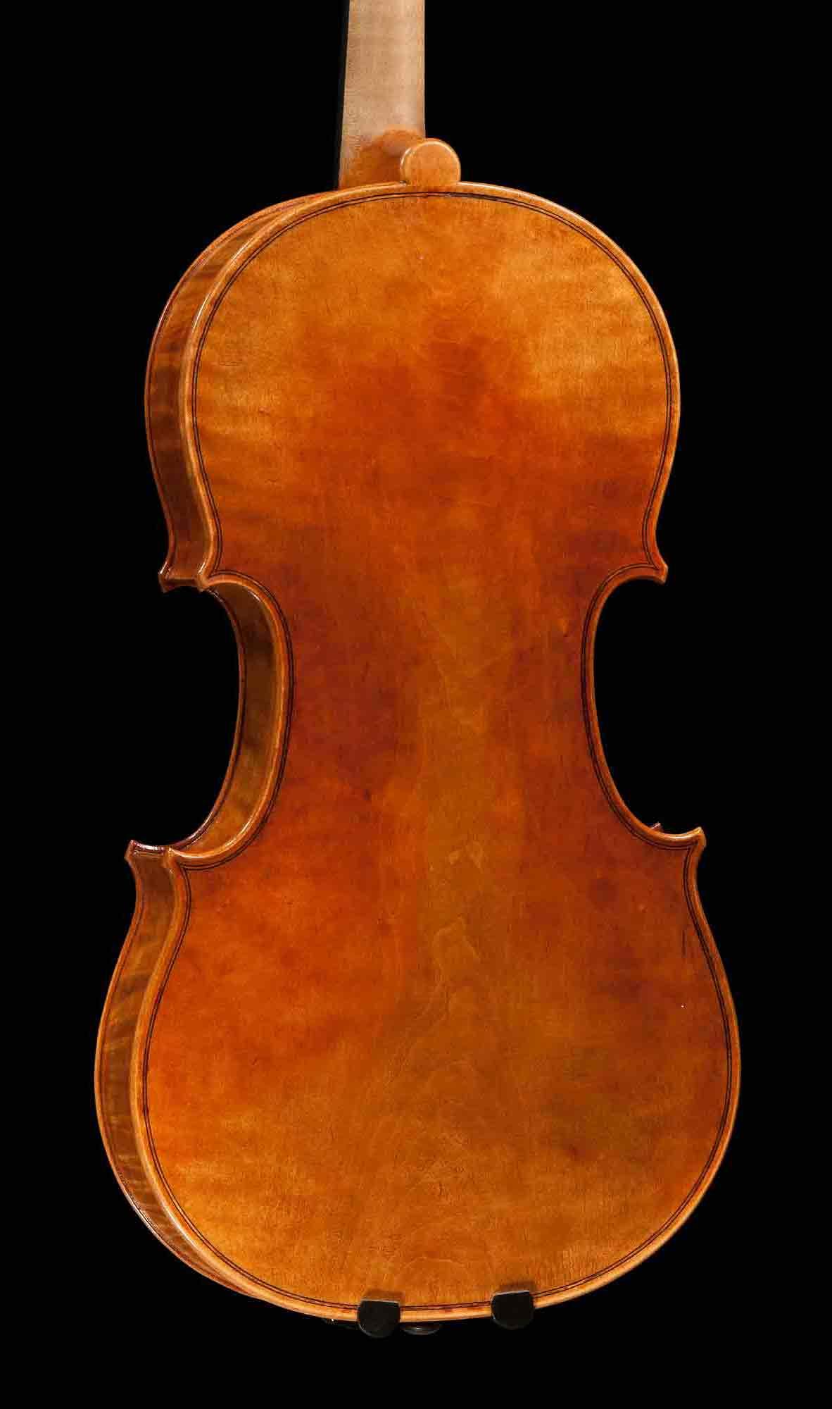 Turiner Viola, einteiliger Boden.